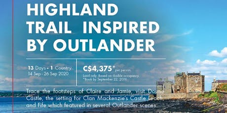 HIGHLAND TRAIL INSPIRED BY OUTLANDER tickets
