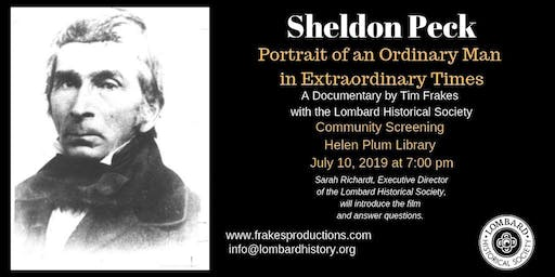 Helen Plum Library Shows Documentary about Sheldon Peck