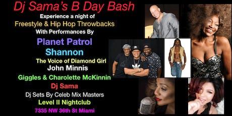 DJ SAMA'S B DAY BASH tickets