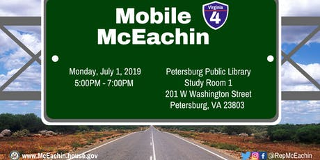 Petersburg Mobile McEachin tickets