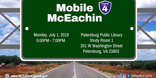 Petersburg Mobile McEachin