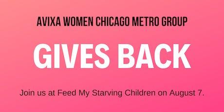 AVIXA Women Chicago Metro Group Gives Back tickets