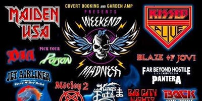 """Monsters of Metal Fest 3 """"Weekend of Madness"""""""