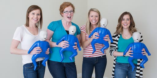 Infant & Child CPR Class - REGINA @ Groovy Mama