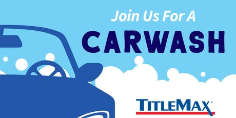 Car Wash for Copeland Elementary at TitleMax Augusta, GA 5 tickets