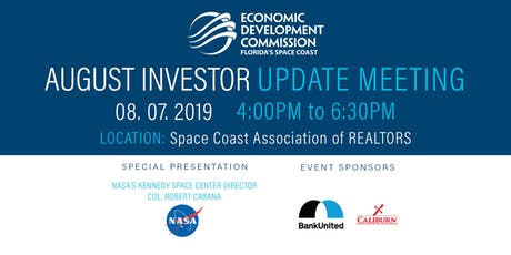 August Investor Update Meeting tickets