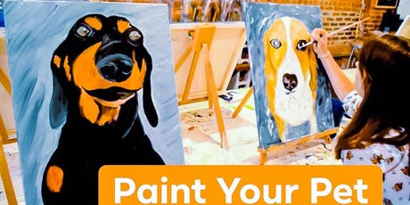 Paint Your Pet Night hosted by Paint on the Rocks   tickets