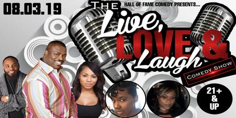 The Live, Love, & Laugh Comedy Show tickets