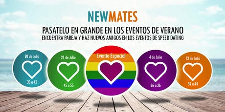 Speed dating en Sabadell - 30 a 42 entradas