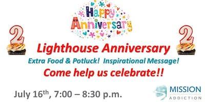 Mission Addiction Lighthouse Anniversary & Inspiration