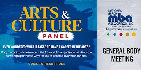 Arts and Culture Panel tickets