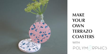 Make Your Own Terrazzo Coasters with Polymorphics tickets