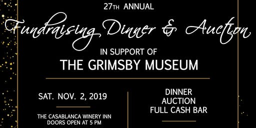 27th Annual Grimsby Museum Fundraising Dinner