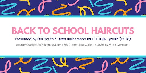 Free Youth Back to School Haircuts
