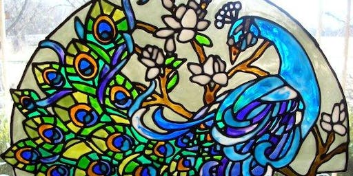 Learn How to Make a Stained Glass Window Cling