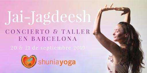 Jai-Jagdeesh en Barcelona - Concierto & Taller