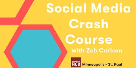 Skills à la Carte: Social Media Crash Course tickets