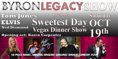 Sweetest Day Vegas Dinner Show Santia Banquet Center Keego, Harbor. tickets