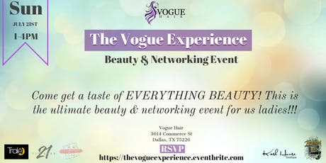 The Vogue Experience tickets