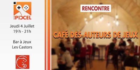 Sud PICCEL - Café des Auteurs de Jeux billets