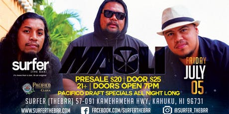 Maoli, live at Surfer, The Bar tickets