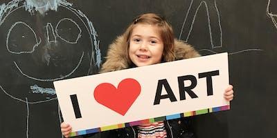 Art Making Studio for Preschoolers