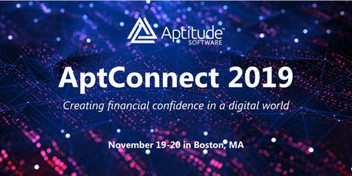 AptConnect 2019 | Aptitude Software Community Event