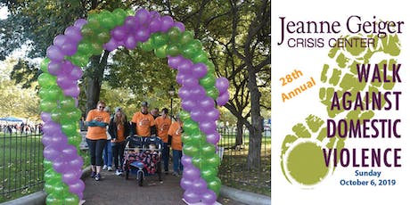 Jeanne Geiger Crisis Center's 28th Annual Walk Against Domestic Violence tickets