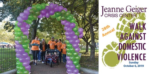 Jeanne Geiger Crisis Center's 28th Annual Walk Against Domestic Violence