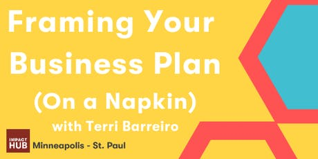 Skills à la Carte: Framing Your Business Plan (On a Napkin) tickets