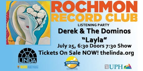 "Rochmon Record Club | Derek and the Dominos ""Layla and Other Assorted Love Songs""  tickets"