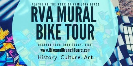 Bike & Brunch Tours: RVA Mural Bike Tour 2019 (August) tickets