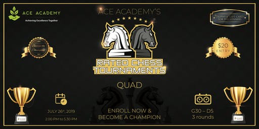 Rated Chess Tournaments – Ace Academy