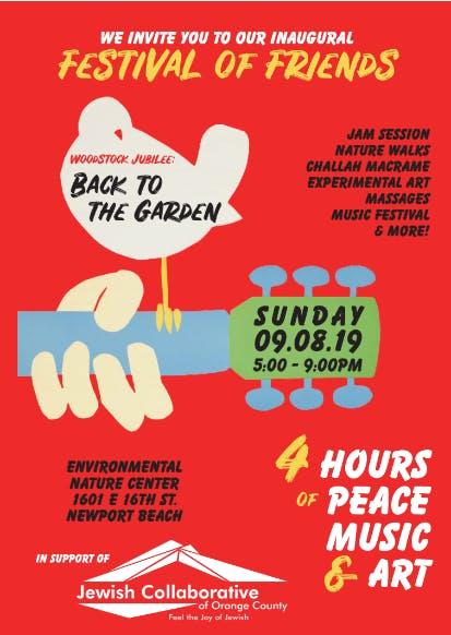 Woodstock Jubilee: Back to the Garden