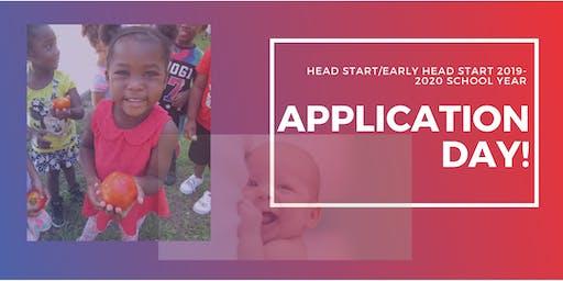 2019-2020 Head Start/Early Head Start Application Day!