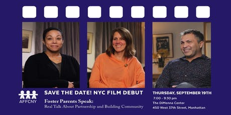 "New York City Film Debut: ""Foster Parents Speak"" Screening and Discussion tickets"
