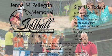 3rd Annual Jenna M Pellegrini Memorial Softball Tournament tickets