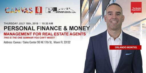 PERSONAL FINANCE & MONEY MANAGEMENT FOR REAL ESTATE AGENTS