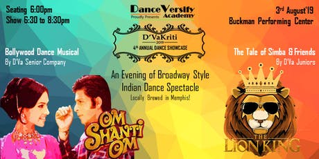 Bombay Talkies by DanceVersify - Presenting Om Shanti Om & The Lion King tickets