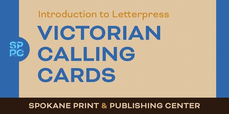 Intro to Letterpress: Victorian Calling Cards tickets
