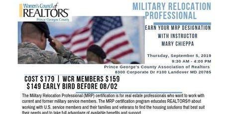 Earn Your MRP Designation with Women's Council of Realtors Prince George's tickets