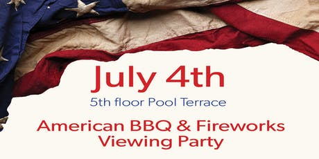 July 4th Rooftop BBQ & Fireworks Viewing Party  tickets