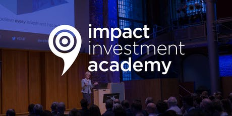 Impact Investment Academy 2019 tickets