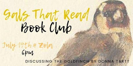 Gals That Read - July Book club tickets