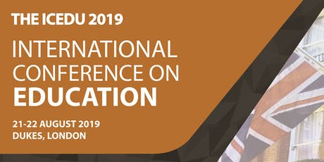 (SCOPUS) The International Conference on Education (THE ICEDU) tickets