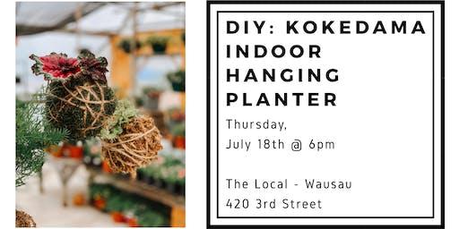 DIY: Kokedama Indoor Plant Hanger