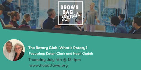 Brown Bag Lunch: What's Rotary? tickets