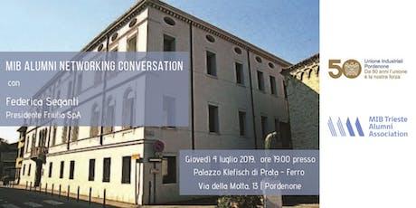MIB ALUMNI NETWORKING CONVERSATION biglietti