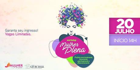 Workshop Mulher Plena ingressos