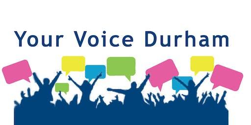 Scugog Town Hall Discussion - New Strategic Plan for Durham Region